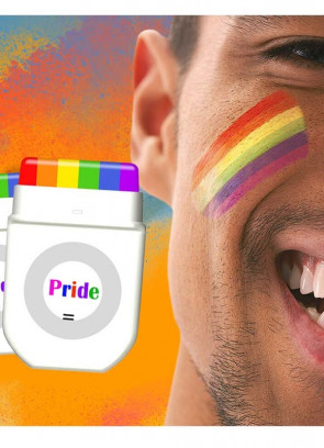 Fanbrush Instant Rainbow - Gay Pride Makeup