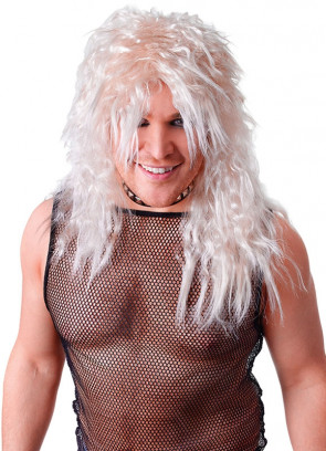 80s Rock Star - Blonde Wavy Unisex wig