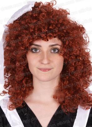 Rocky Horror Show - Magenta Wig - Ginger curls
