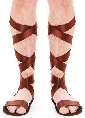 Roman Sandals (Brown Size 7-10)
