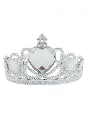 Royalty Tiara - Clear Heart Stone