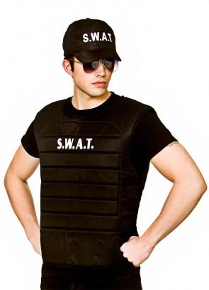 S.W.A.T Officer Vest & Cap