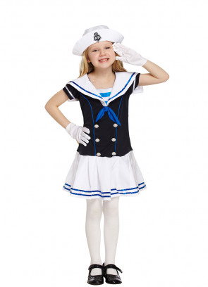 Sailor Girl (Girls) Costume