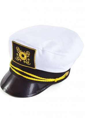 Sailor Hat (Captain Gold String)