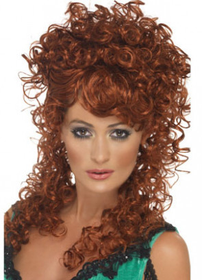 Saloon Girl Ginger Wig