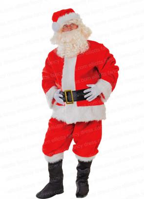 Santa Suit - Plush Costume