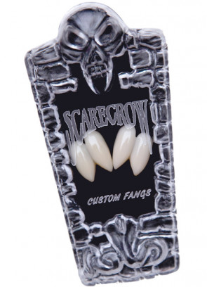 Scarecrow Shredder Fangs in Coffin Box