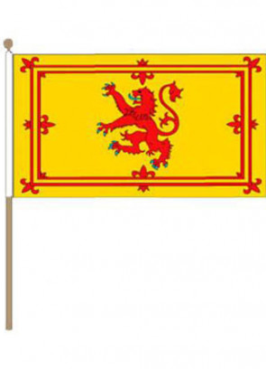 Scotland - Lion Crest - Hand Flag