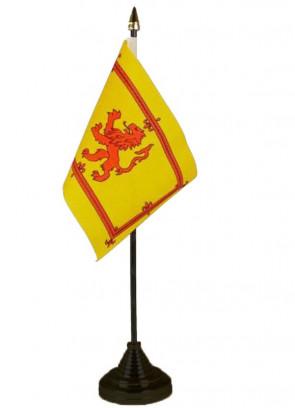 Scotland Lion Table Flag
