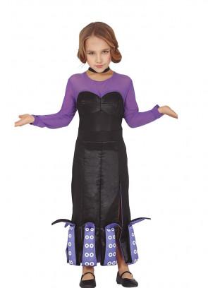 Girls Sea-Villain Costume