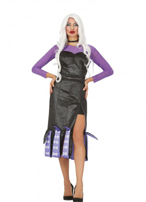 Ladies Sea-Villain Costume