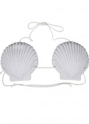 Hawaiian Shell Bra White