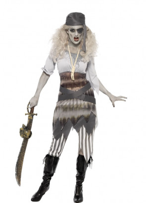 Pirate Zombie Maiden