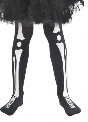 Kids Skeleton Tights - Age 4-9