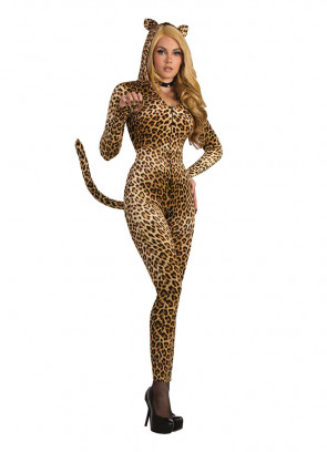 Sly Leopard Catsuit