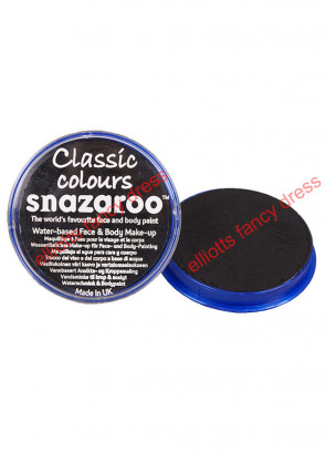 Snazaroo Black Face Paint 18ml