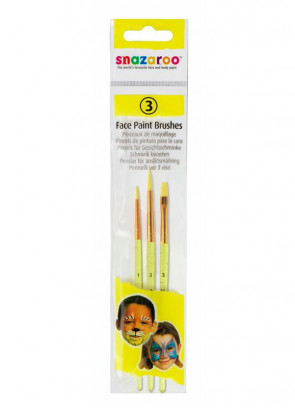 Snazaroo Face Paint Brushes