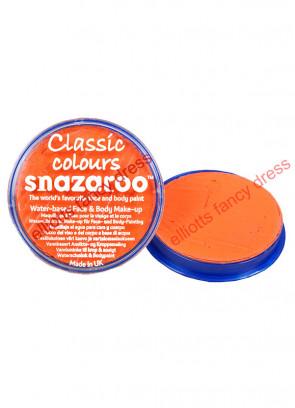 Snazaroo Orange Face Paint 18ml