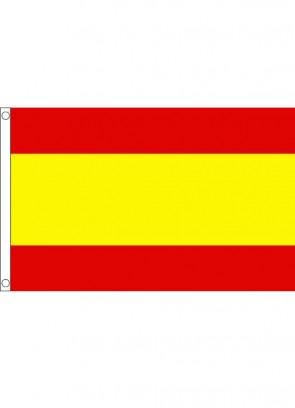 Spain No Crest Flag 5x3