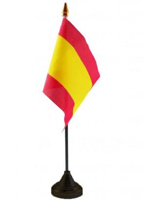 """Spain Table Flag 6"""" x 4"""""""