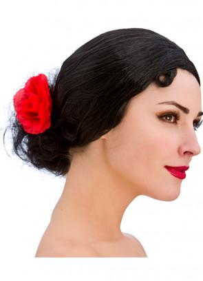 Spanish Senorita Wig - Black
