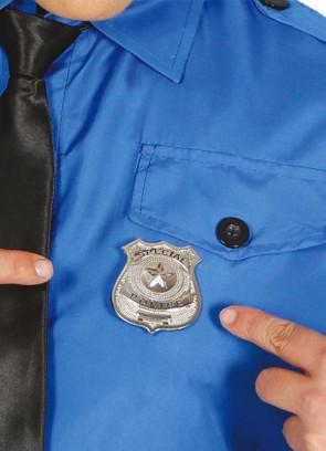 Special Police Metal Badge 6.5cm