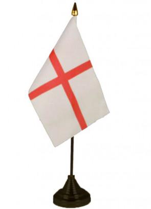 """England (St George) Table Flag 6"""" x 4"""""""