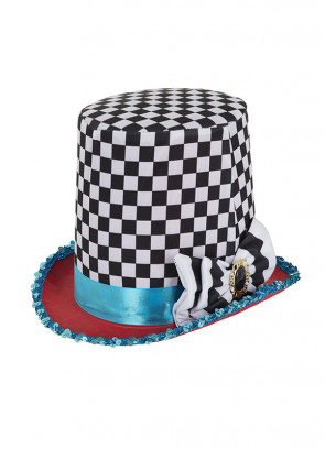 Stovepipe Mad Hatter Top Hat