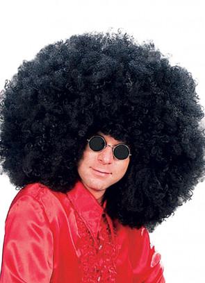 Super Jimmy - Black Afro Wig