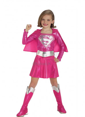 Supergirl (Pink) Costume