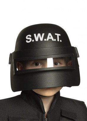 SWAT Police Helmet - Childs