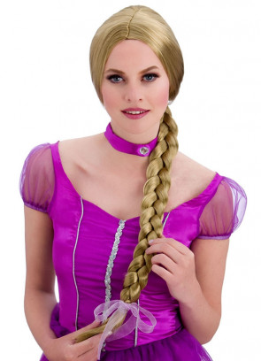 Sweet-Princess Blonde Wig - 65cm plait
