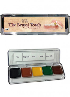 The Ultimate Brutal Tooth Palette (Alcohol Activated)