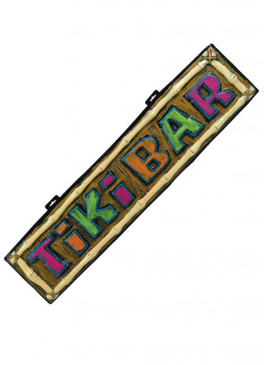 Hawaiian Tiki Bar Sign