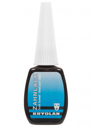 Kryolan Tooth Enamel 12ml (Black)