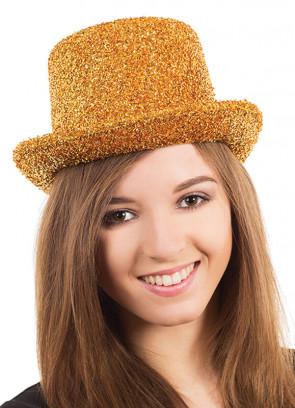 Top Hat Gold Tinsel