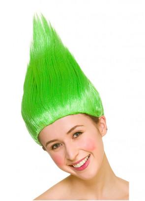 Troll Wig - Green