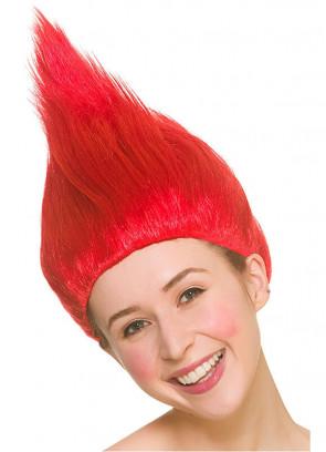 Troll Wig - Red