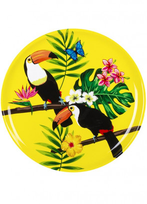 Tropical Toucan Sturdy Serving Tray 34.5cm