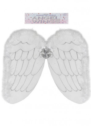 Marabou & Net Adults Angel Wings - 49x53cm