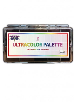 Ultracolour Darktones Greasepaint Palette