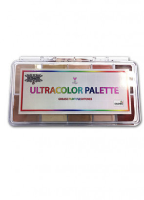 Ultracolour Fleshtones Greasepaint Palette