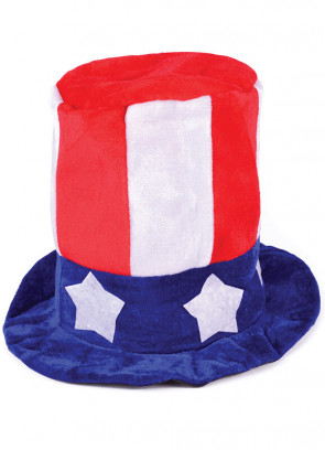 Uncle Sam USA Top Hat