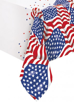 USA - 4th of July Table-Cover 137cm x 213cm