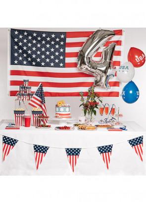USA - 4th of July Napkins 16.5cm – 16pk