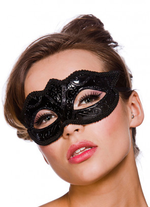 Calypso Eye Mask - Black