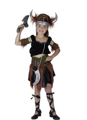 Viking Girl Costume - Fur