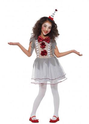 Dancing Vintage Clown Girl