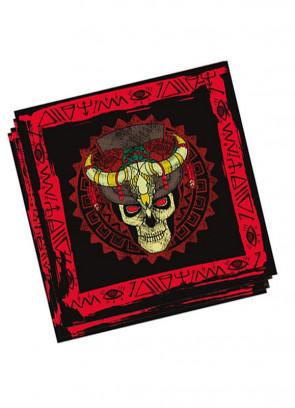 Halloween Voodoo Paper Napkins 16cm - 20pk