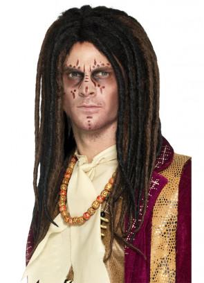 Voodoo Witch Doctor Dreadlock Wig